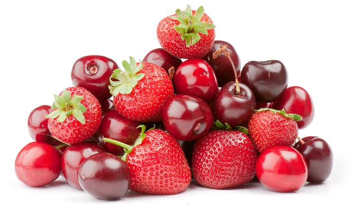 Meyve Diyeti Kırmızı Meyveler