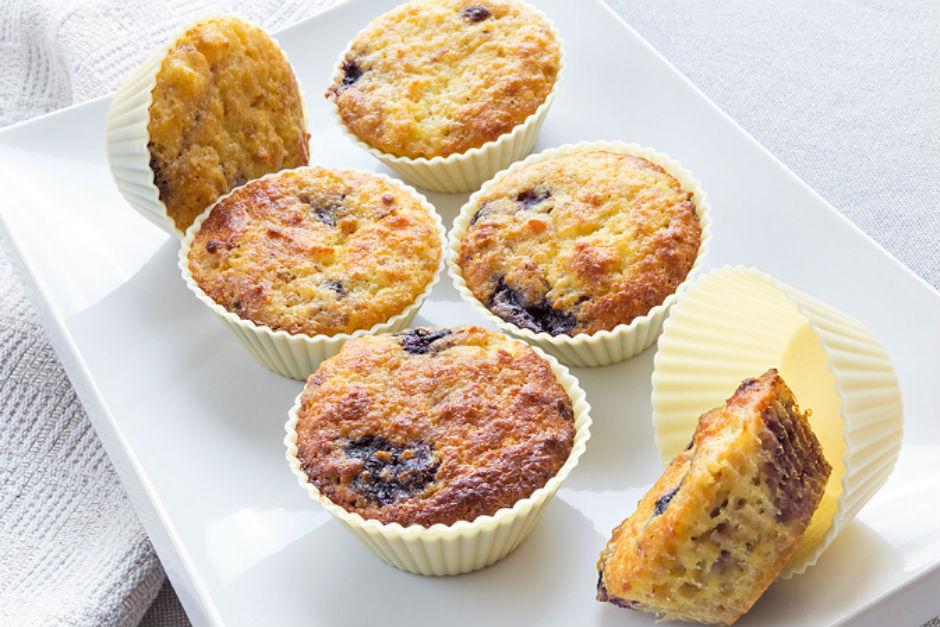 Glutensiz Yaban Mersinli Muffin Tarifi