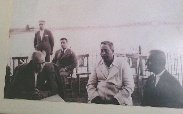 Balık Osman'ın babası ve Atatürk aynı sofrada