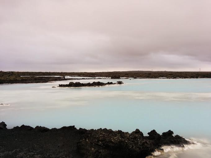 İzlanda Mavi Göl