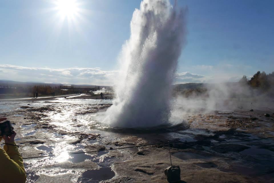 İzlanda Geysir