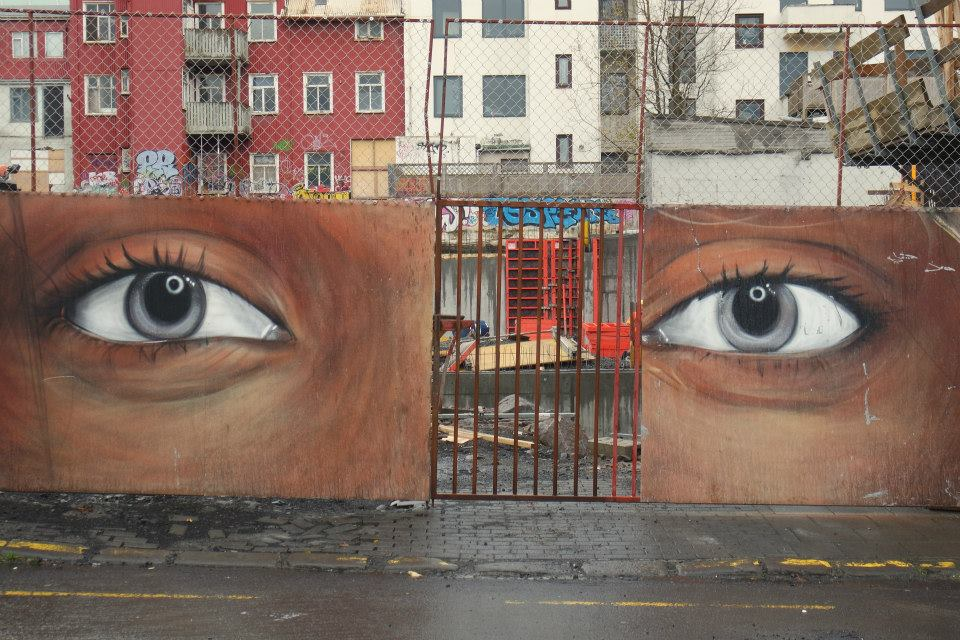 İzlanda Sokak Sanatı