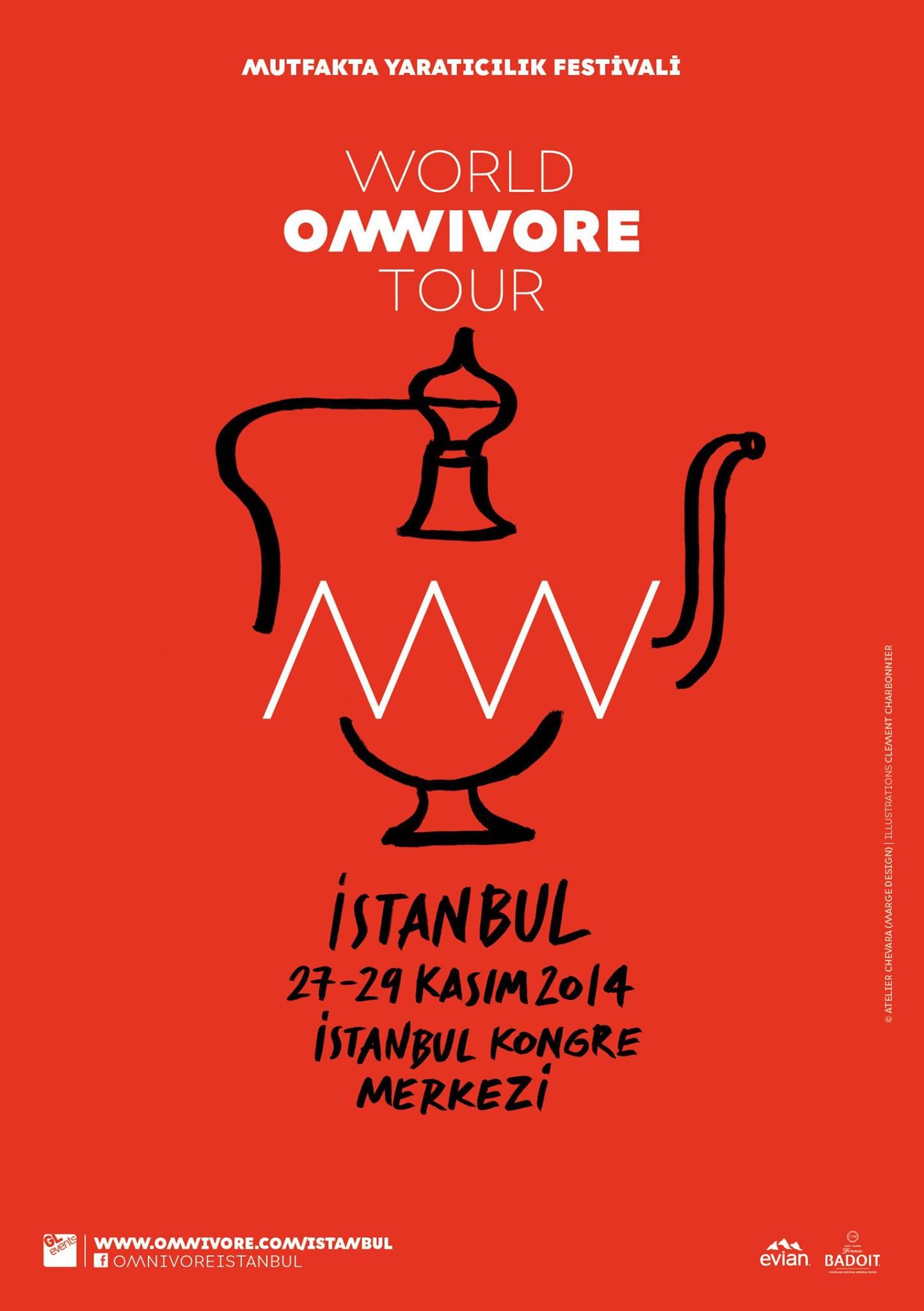 fb.com/OmnivoreIstanbul - Omnivore Mutfakta Yaratıcılık Festivali