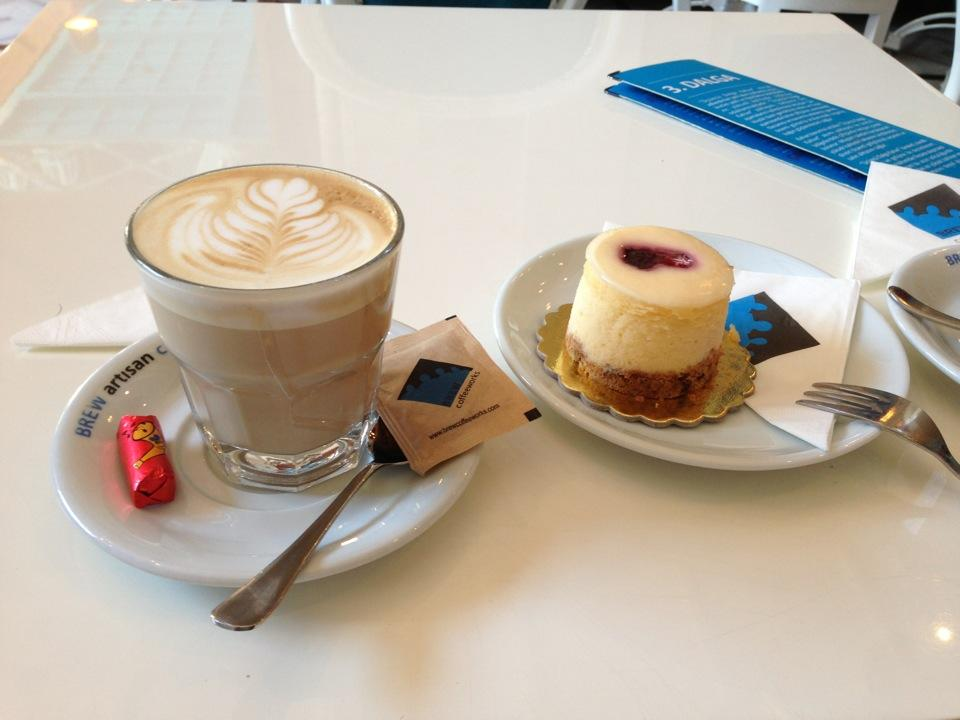foursquare - brew coffee works
