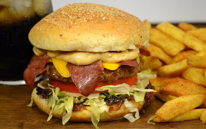 hamburger-patates