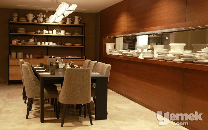 The Dish Room Restaurant Yemek Odası