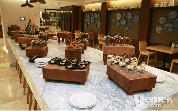 The Dish Room Restaurant Tatlı Büfesi