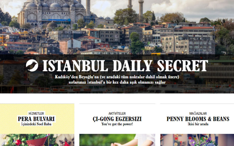 daily secret istanbul