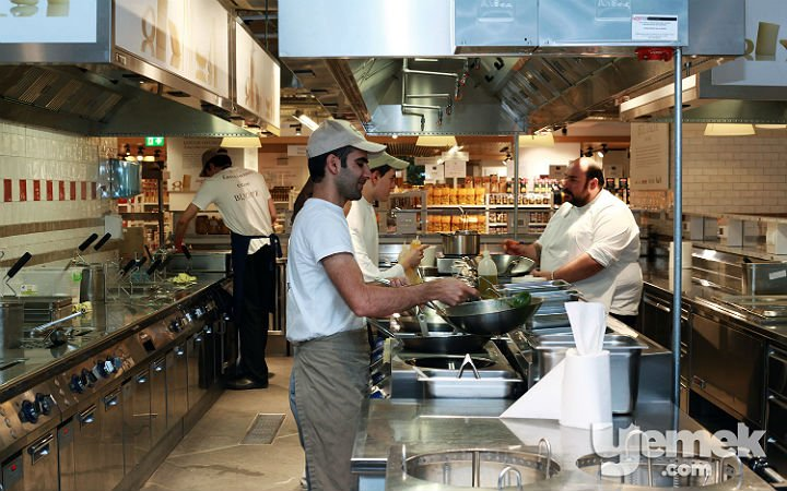 Eataly Restaurant Mutfakları