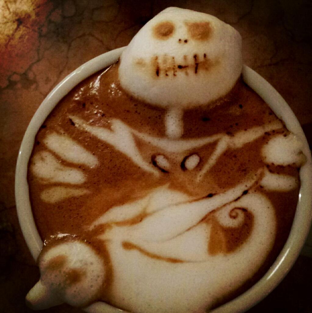 spoon-tamago - en güzel latte  artlar