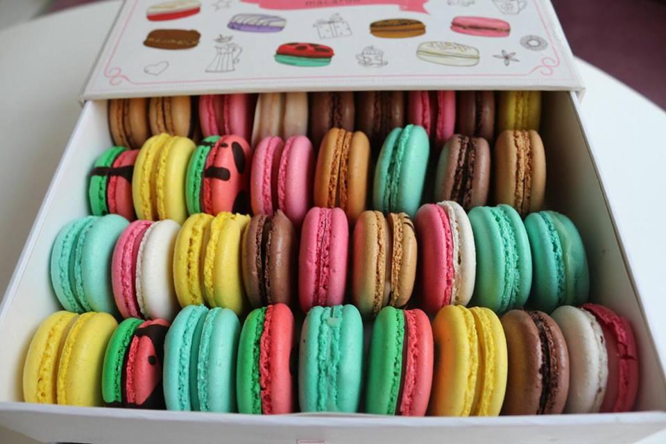 facebook - mrs cupcake macaronları