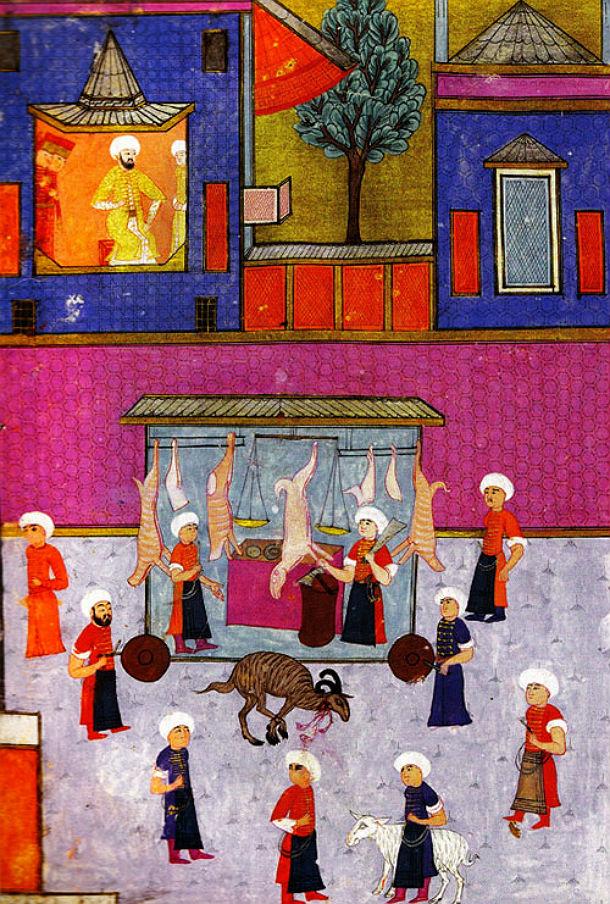 feastingneverstops - osmanlı mutfağı et yemekleri