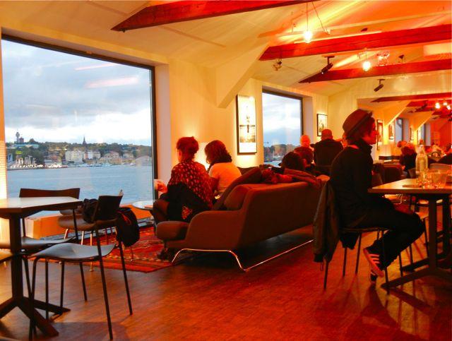 sandracarpenter - stockholm'de ne yenir - fotografiska museum cafe