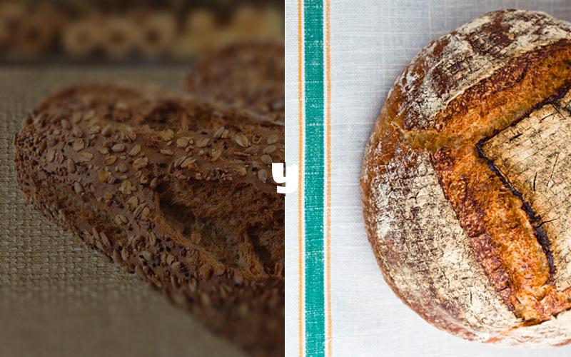 cafefernando - ekşi mayalı ekmek (sağda)