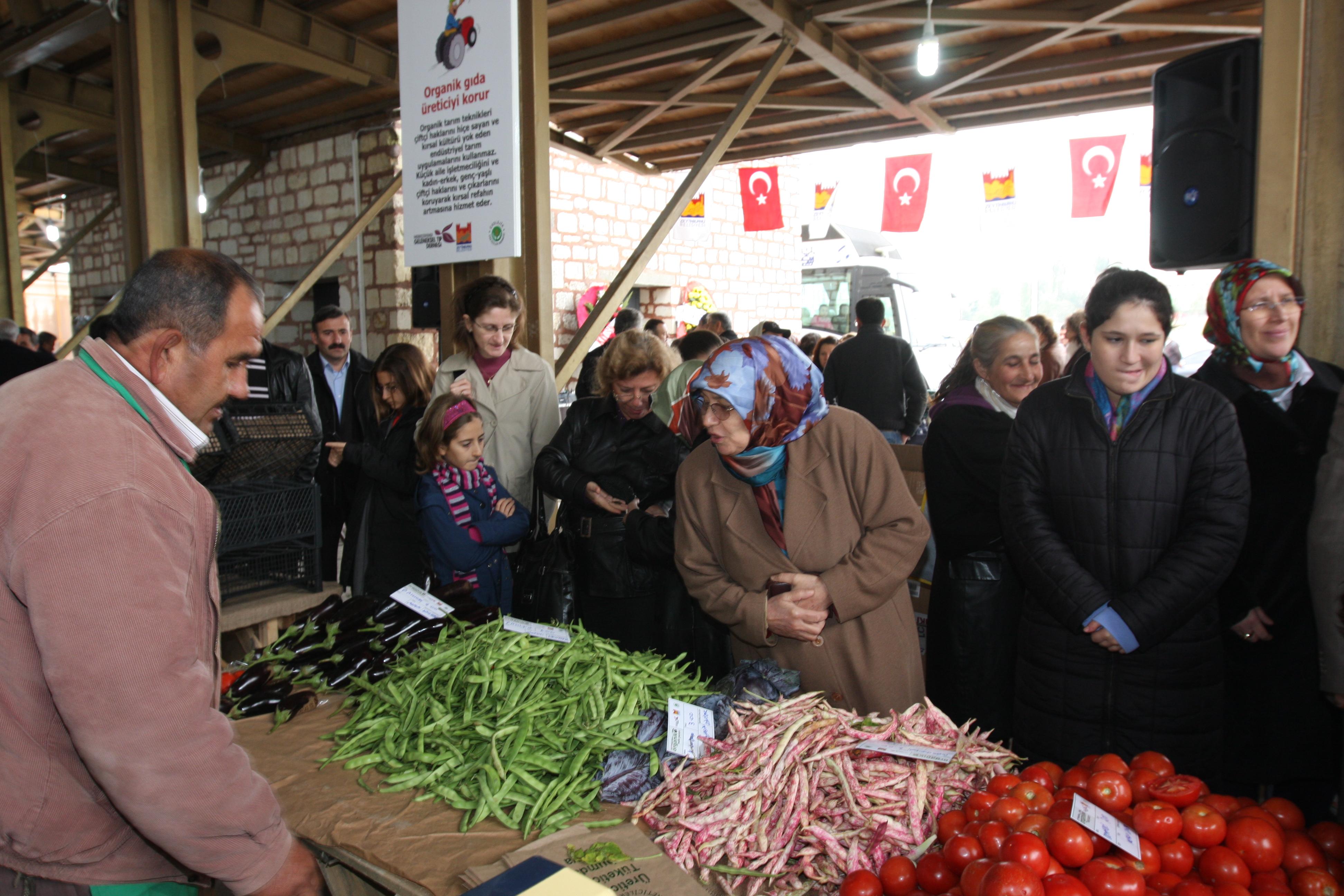 zeytinburnu - istanbul'daki organik pazarlar