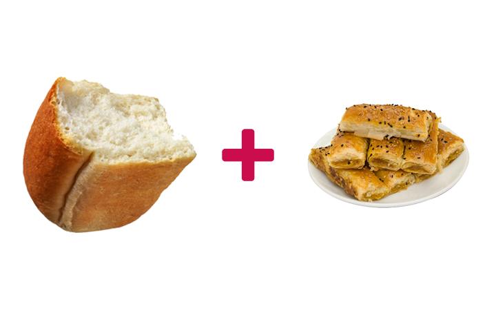 ekmek arası börek