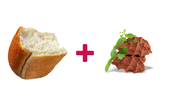 ekmek arası çiğ köfte