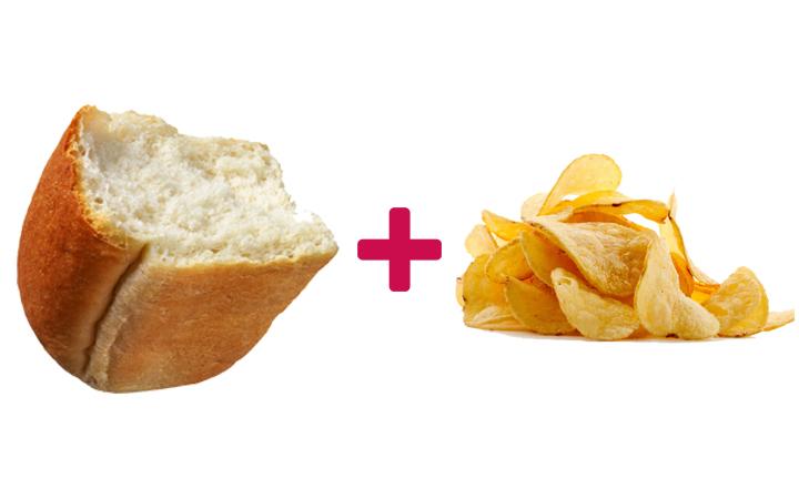 ekmek arası cips
