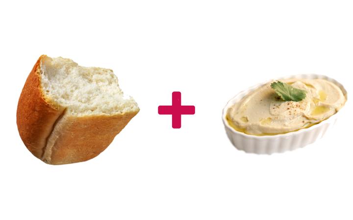 ekmek arası humus