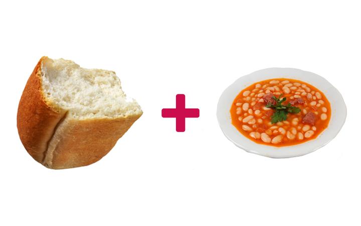 ekmek arası kuru fasulye