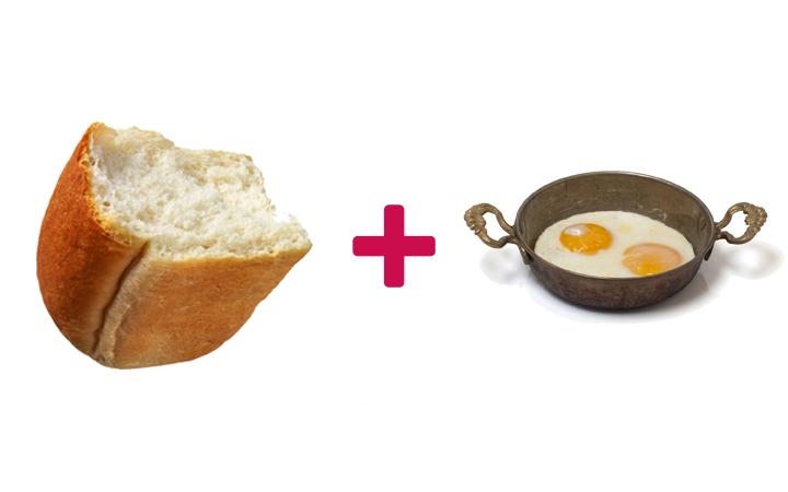 ekmek arası sahanda yumurta