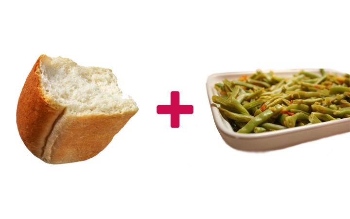 ekmek arası taze fasulye