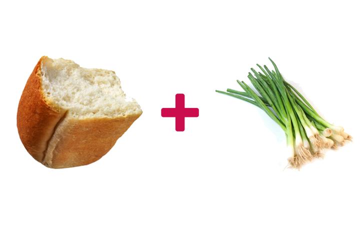 ekmek arası yeşil soğan