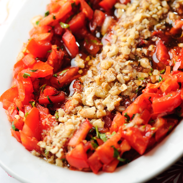 gavurdağı salatası yüz kızartan yiyecekler