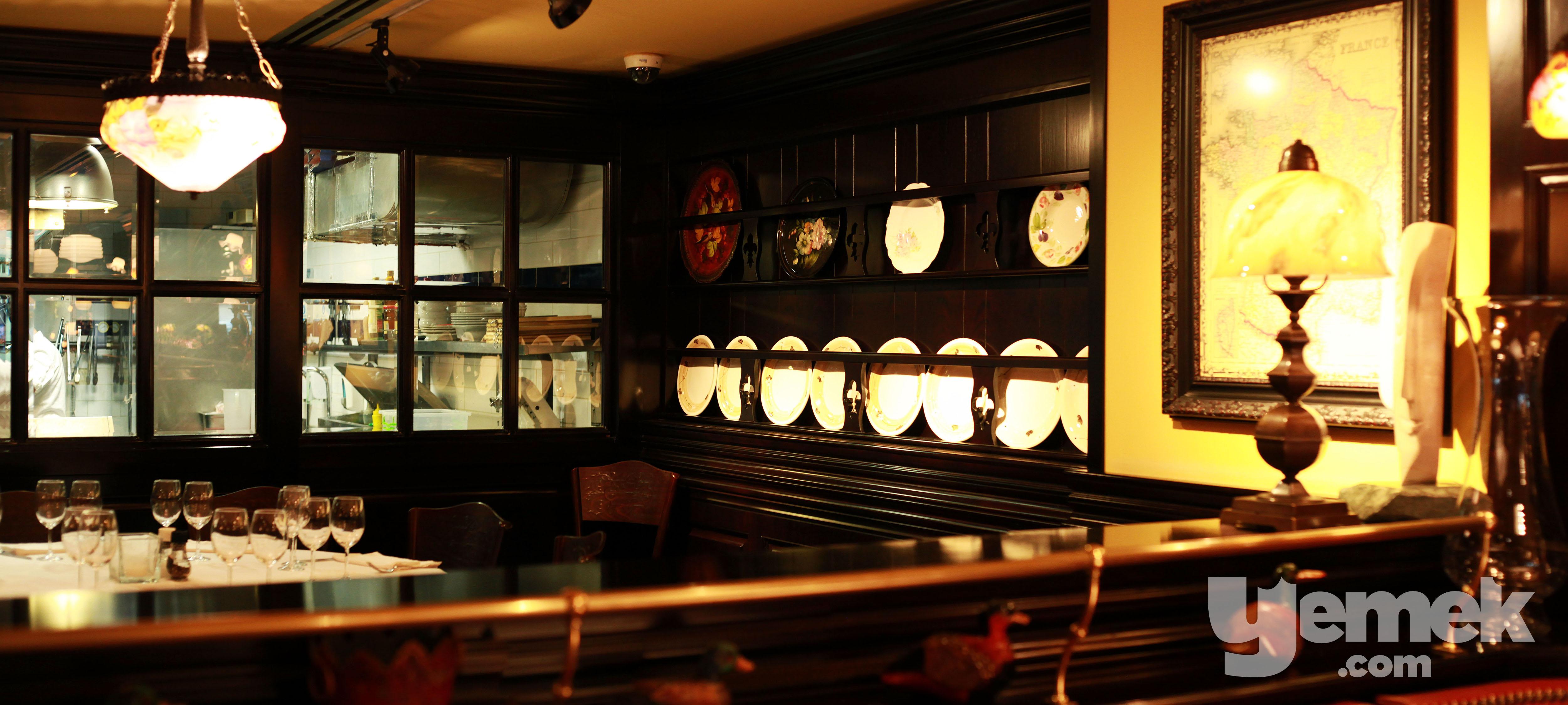 La Brise Brasserie Şeffaf Mutfak
