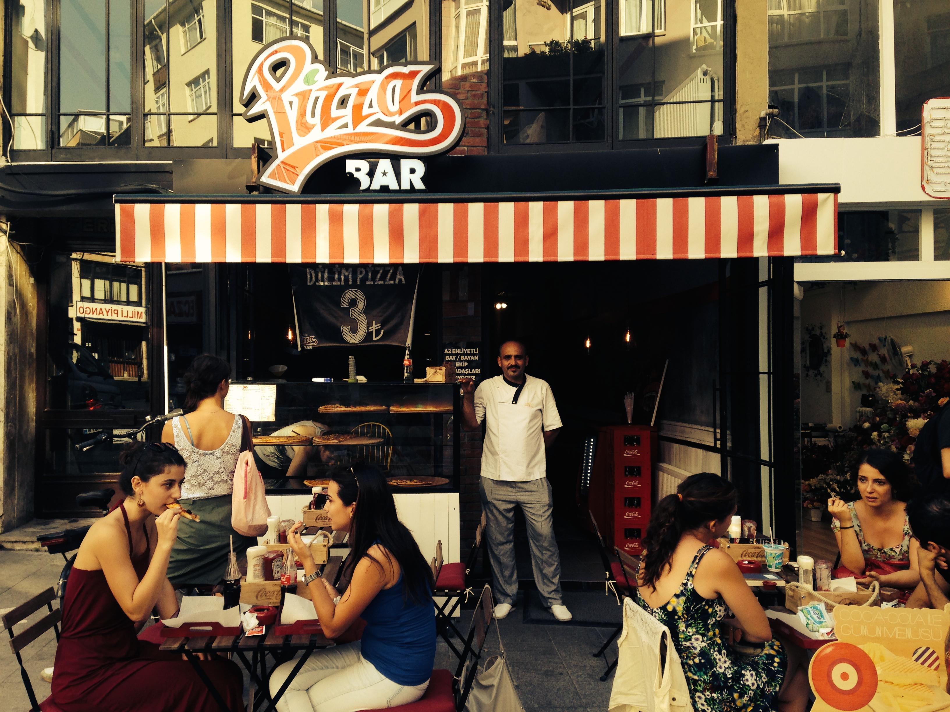 aujourdhuilaturquie - pizza bar kadıköy