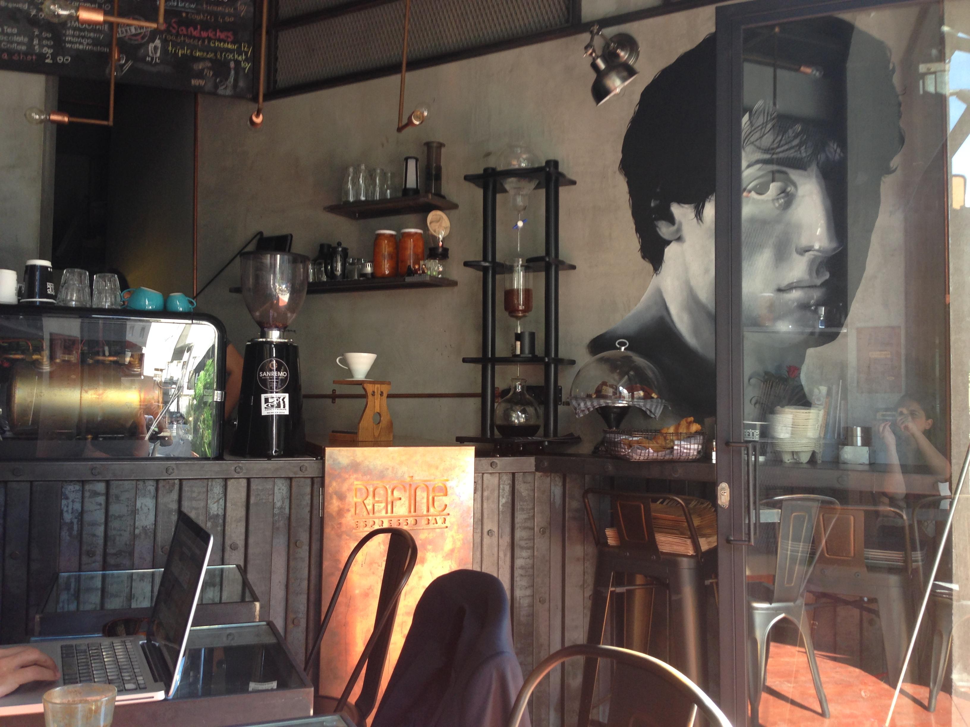 themagger - rafine  espresso bar kadıköy