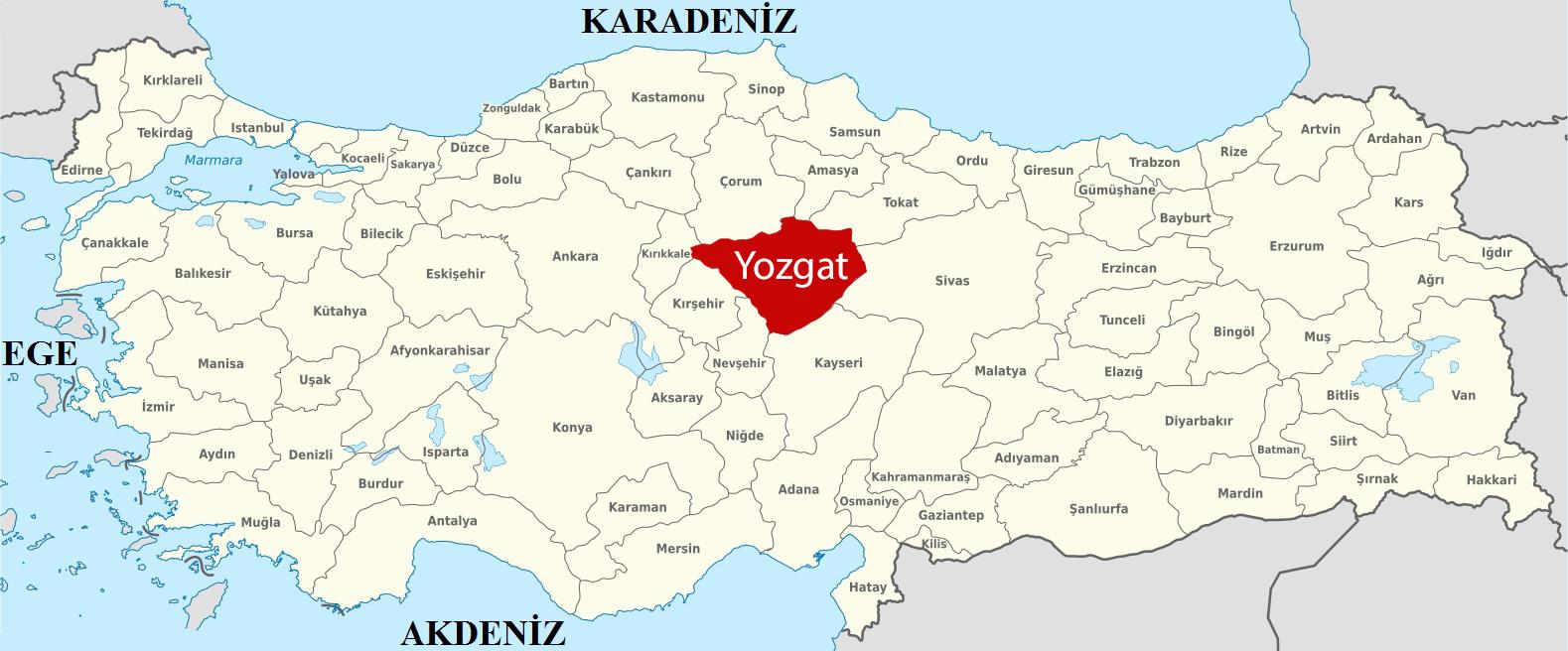 turkiye-haritasi-yozgat