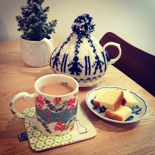 instagram - ingiliz çayı