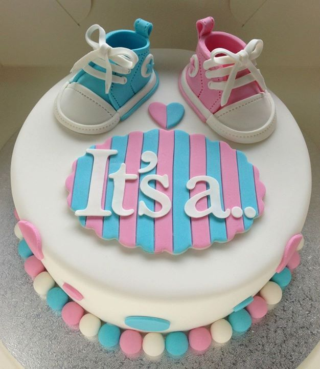 pinterest - baby shower pastası