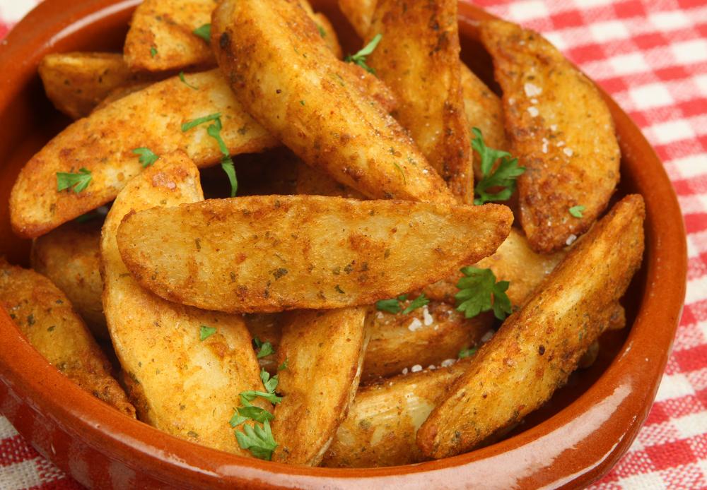 Çeşnili Patates