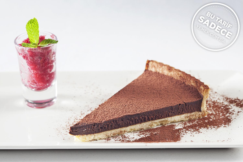 Mixo Restaurant Çikolatalı Acılı Tart Tarifi