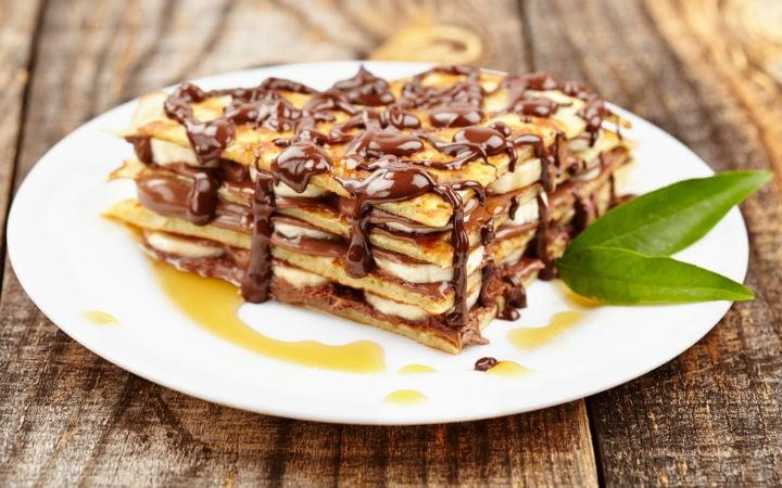 Çikolatalı Muzlu Krep Tarifi