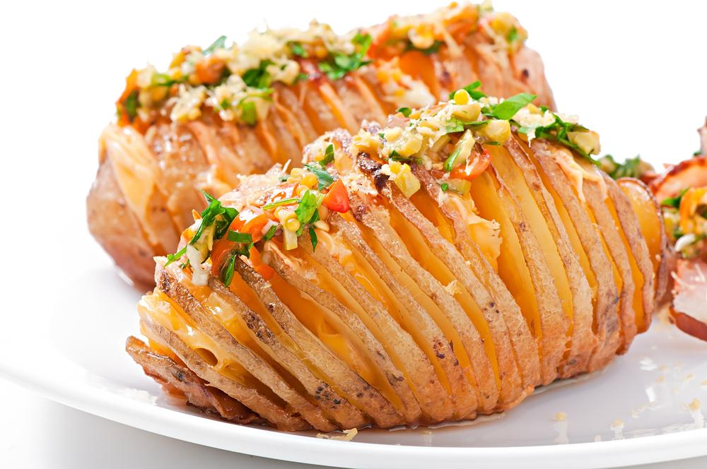 Dilimli Bütün Patates