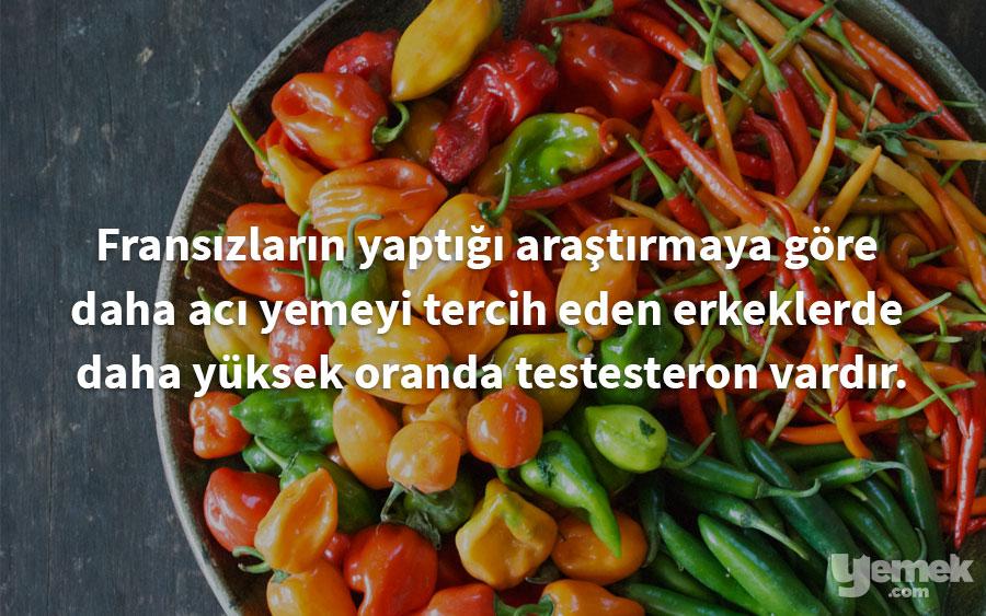 testesteron - yiyecekler hakkında bilgiler