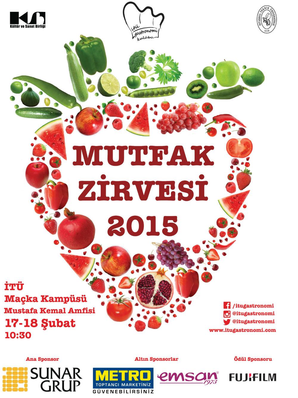 İTÜ Gastronomi Mutfak Zirvesi 2015
