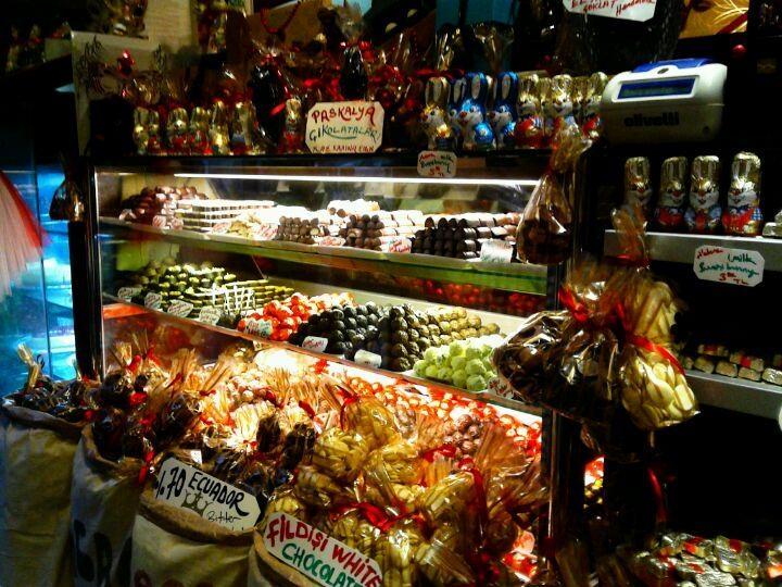naskah-drama - çikolata dükkanları