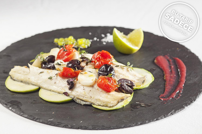 Mixo Restaurant Kağıtta Levrek Tarifi