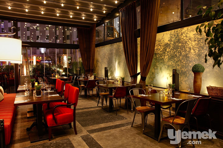 Mixo Restaurant, Martı İstanbul Hotel Giriş