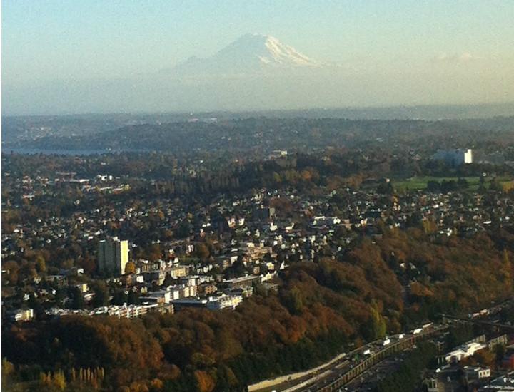 Yunan mitolojisindeki Olimpos dağını Seattle'a itelemişler