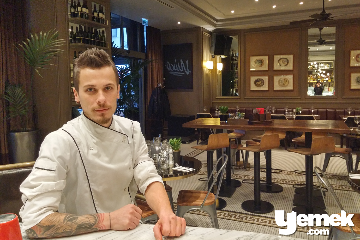 Mixo Restaurant Executive Chef Burak Fındık