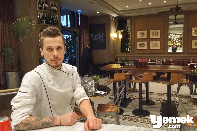 Mixo Restaurant Executive Chef Burak Fındık