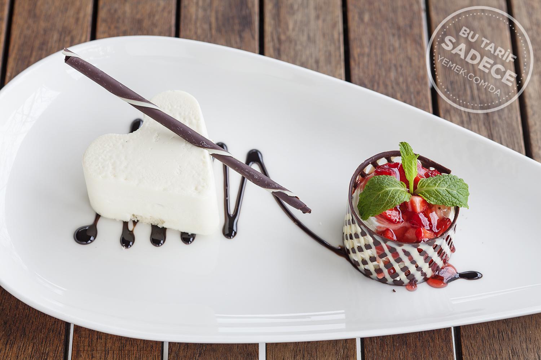 Tapasuma Restaurant Sevgililer Günü Tatlısı Beyaz Çikolatalı Mus Tarifi