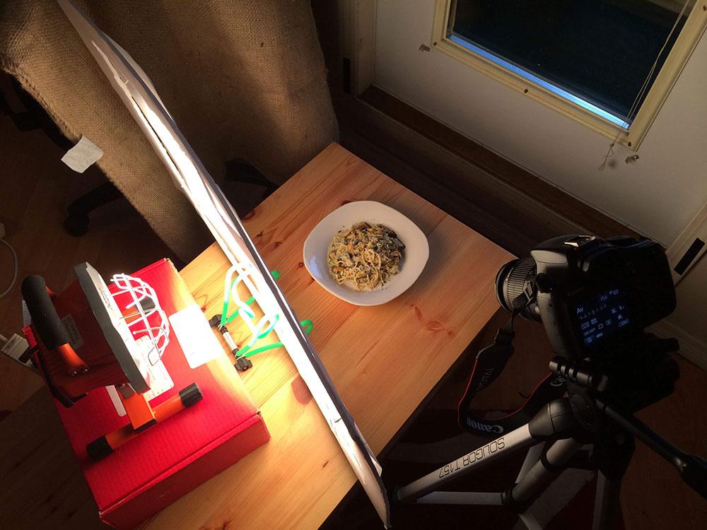 cookingbylaptop - yemek fotoğrafında ışık nasıl kullanılmalı?