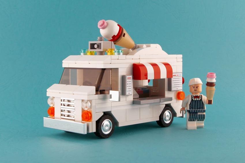 pleyworld - lego dondurma arabası