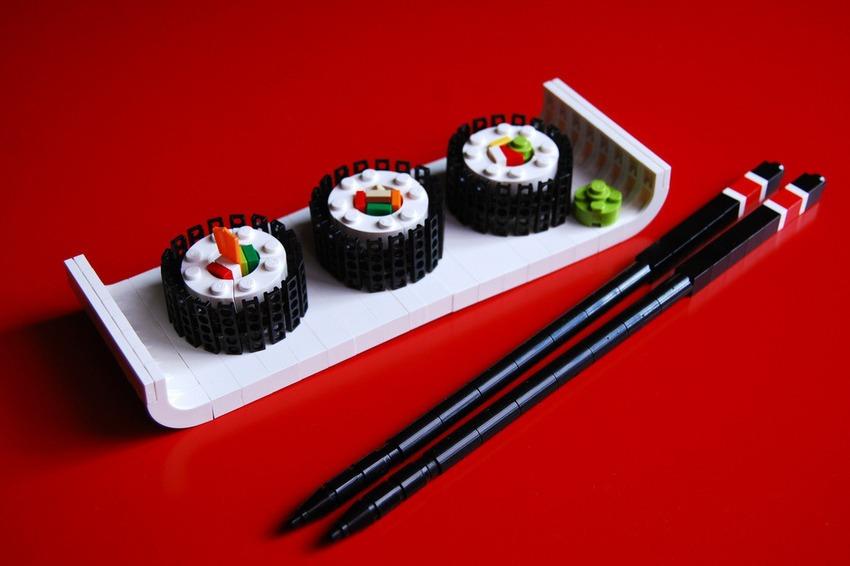pleyworld - lego sushi